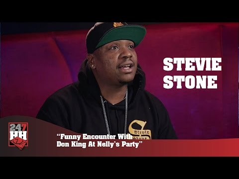 Stevie Stone - Funny Encounter With Don King At Nelly's Party (247HH Exclusive)