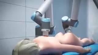 Robot Masör Fizyoterapist  Fizik Tedavi Uzmanı   Video  Açılması İçin Beklemek Lazım