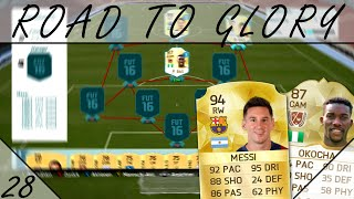 "FIFA 16 Ultimate Team - ""Road To Glory"" #28: Zeitmangel"