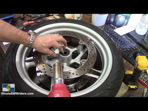Triumph Daytona 675 Wiring Diagram Elements Of Communication Replace Wheel Bearings On Your Motorcycle Youtube 16 03