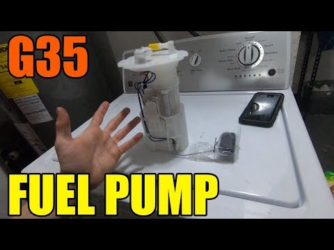 How To Replace Fuel Pump In an Infiniti G35