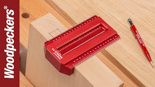 Saddle T-Squares improve your lay out accuracy with three unique features – a series of holes to guide your pencil, an edge that wraps around your work, and a ...