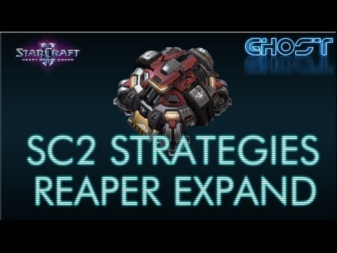 Starcraft II Strategies - Fast Reaper Expand (Starcraft 2 Gameplay/Commentary/Tips)