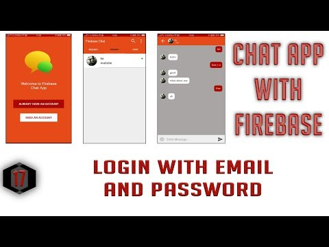 Login User With Email And Password #17  Android Firebase Chat App In Hindi/Urdu