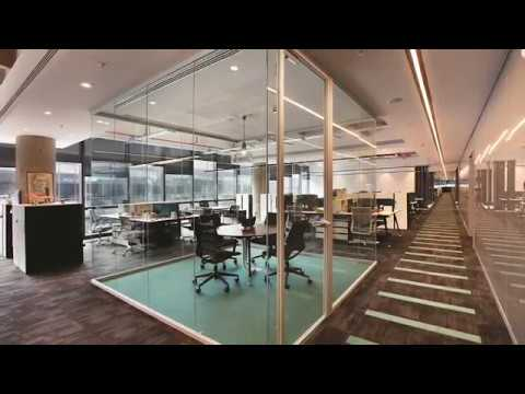 TRIMline Interiors - The pure lines of modern office (Modular partition wall systems)