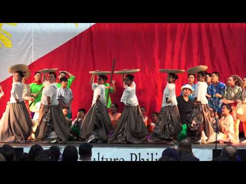 Philippines Farmers Dance - Traditional Cultural Folk Magsasaka Dance; Best Variety Performance 2015