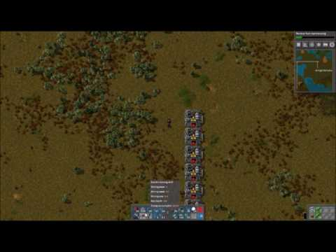 lets play factorio with Brightblade episode 40 : Iron  Furnace Array