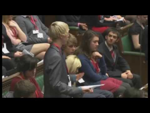 UKYP House of Commons sitting  2011