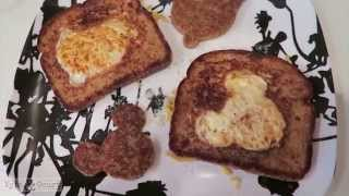 Bird's in a Nest (Egg in Toast) How To!