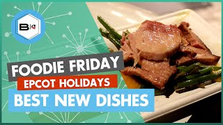 Best New Dishes at the 2018 Festival of the Holidays at Epcot