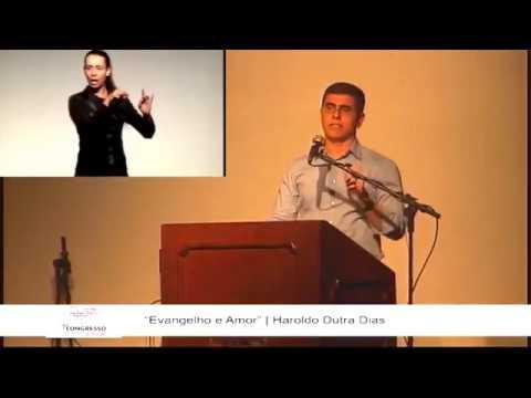 """""""Evangelho e Amor"""" - Haroldo Dutra Dias - 1º Congresso Espírita de Belo Horizonte"""