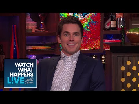 Did Matt Bomer Witness Drama Between Alex Pettyfer And Channing Tatum?  WWHL
