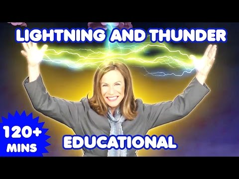 Lightning and Thunder Song | Nursery Rhymes | + more Kids Songs