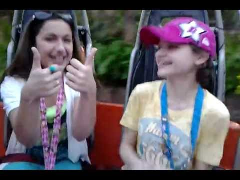 Joey King and Ariana Guido at Disneyland.mp4