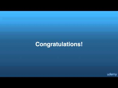Lecture 24: Congratulations, You Made It! -FU courses