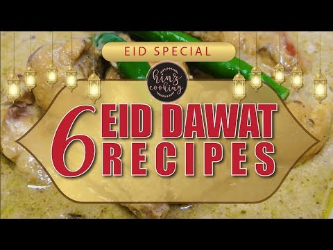 6 Easy Eid Special Recipes 2019 - Dawat Recipes - Eid Menu Ideas #2019Eid #EidRecipes #EidMubarak