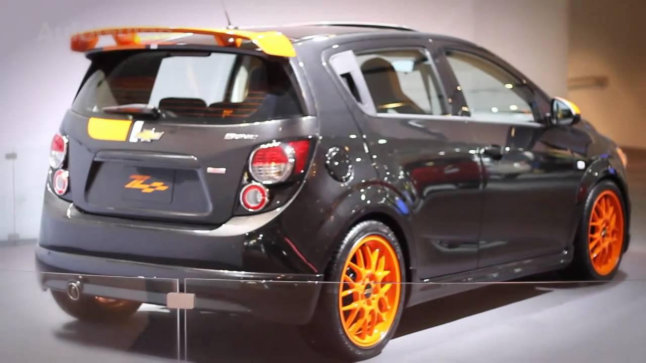 detroit 2011  chevrolet sonic z-spec concept review