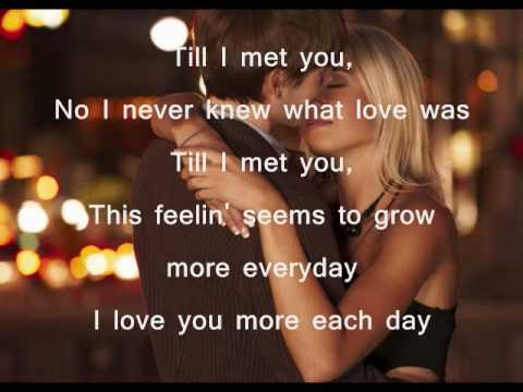 Till I Met You w/ lyrics by Kuh Ledesma