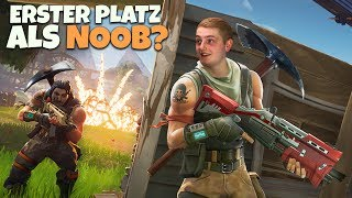 ERSTES MAL BATTLE ROYALE! | Wie weit komme ich als Noob?! | Fortnite Battle Royale Deutsch