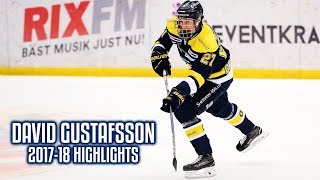David Gustafsson | 2017-18 Highlights