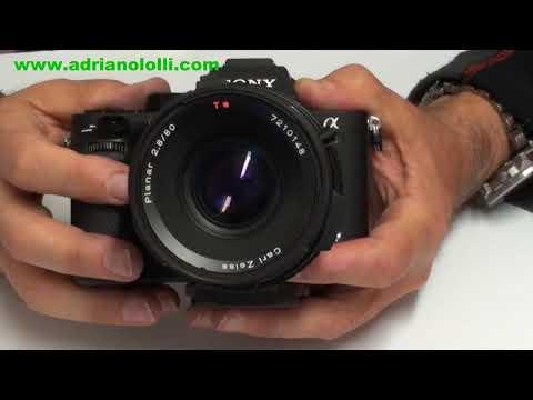 Adattatore Obiettivi  Hasselblad A Fotocamere E Mount Sony 7 / 9