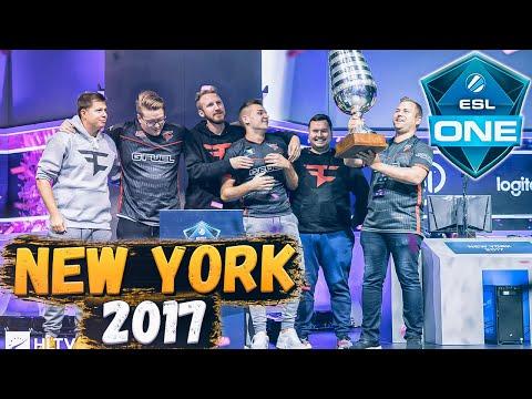Лучшие моменты ESL One New York 2017