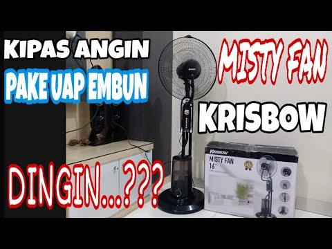 KIPAS ANGIN MISTY FAN KRISBOW PAKE UAP EMBUN #unboxing And Installation