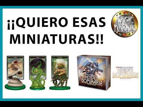 Nuevas miniaturas de Magic: the Gathering