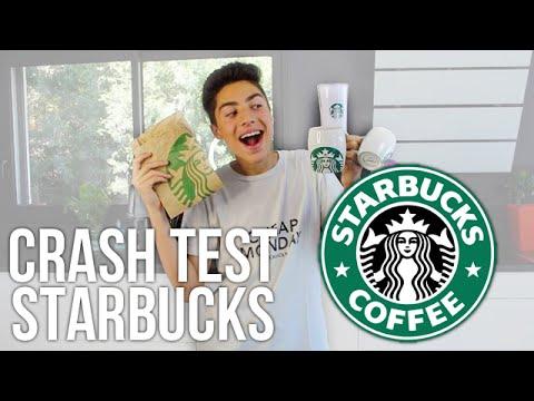 CRASH TEST : Starbucks boisson