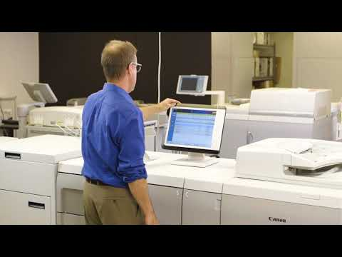 Canon's How-To Series- PRISMAsync Technologies: Moire Reduction With Canon's PRISMAsync Print Server