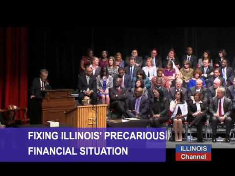 Inaugural of the 100th Illinois House of Representatives