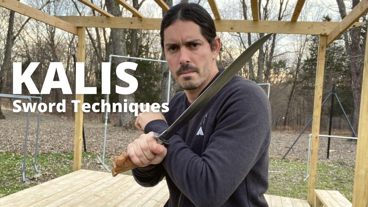 Short Sword Basic Fighting Techniques - Kali Escrima Arnis