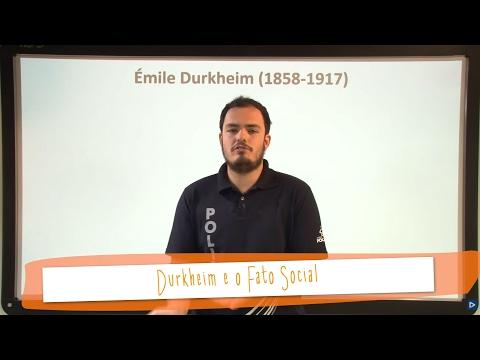 Aula 45 - Sociologia - Durkheim e o Fato Social