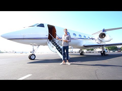 Thumbnail: $50 MILLION DOLLAR PRIVATE JET