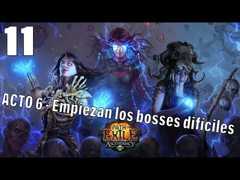 PATH OF EXILE | METAMORPH HARDCORE | ACTO 6 Bosses finales empiezan a ser chungos