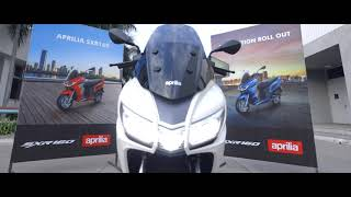 Aprilia SXR 160 | Production Roll Out