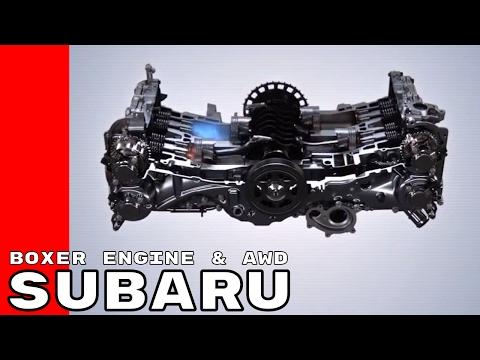 How Does the Subaru Boxer Engine & Symmetrical All Wheel Drive Work