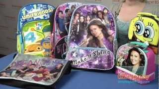Nickelodeon Backpacks and Lunch Bags from Global Design Concepts