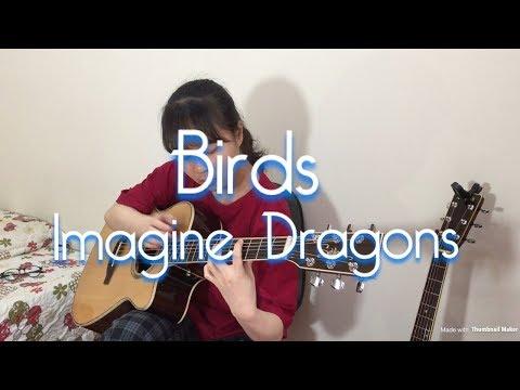 Imagine Dragons - Birds - Fingerstyle Guitar Cover - Quynh Shin #birds #imaginedragons