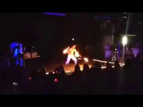 Max Stuart 2014 LJ White Party Fire Show!