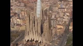 Как будет выглядеть знаменитый Храм Святого Семейства в Барселоне(Этот Храм, наследие великого Антонио Гауди, строится, почти 135 лет. Но, к 2026 году планируется его полностью..., 2016-10-29T19:50:08.000Z)