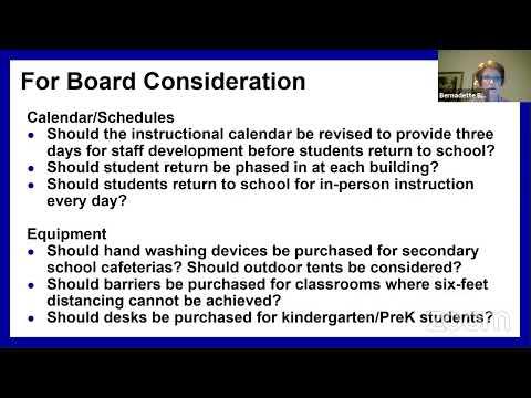 Download WIUFSD Board of Education Special Meeting ~ July 27, 2020