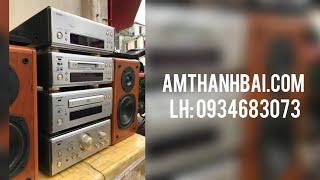 Dàn trung DENON 7.5L full 4 thớt - Yến Âm Thanh Bãi - Dàn Nhật & CD Tái Bản - LH: 0934683073