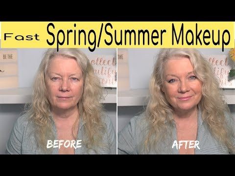 5 Minute Spring & Summer Natural Look Makeup
