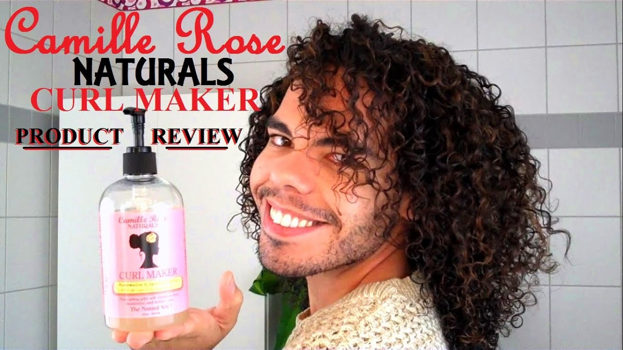 Camille Rose Naturals Curl Maker Product Review Curl