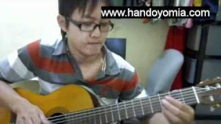因为爱情 yin wei ai qing 王菲 陈奕迅 fingerstyle guitar solo