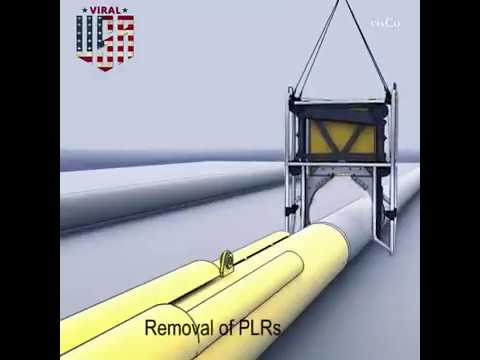 Oil and Gas 3D Animation Subsea Operations