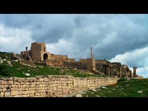 Dougga (Thugga), the best-preserved ancient Roman city in Tunisia