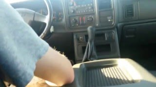 silverado 4 8 5 speed console swap driving