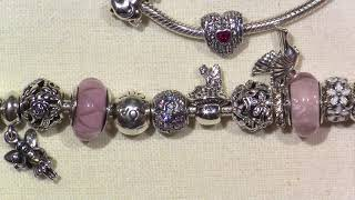 What's on my Pandora bracelet?